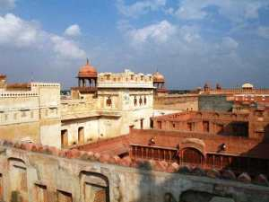 Bikaner - potężny fort Junagarh