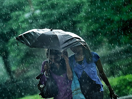 Pogoda w Indiach nie rozpieszcza.