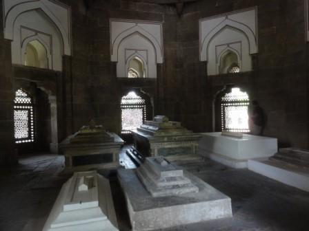 W grobowcu cesarza Humayuna