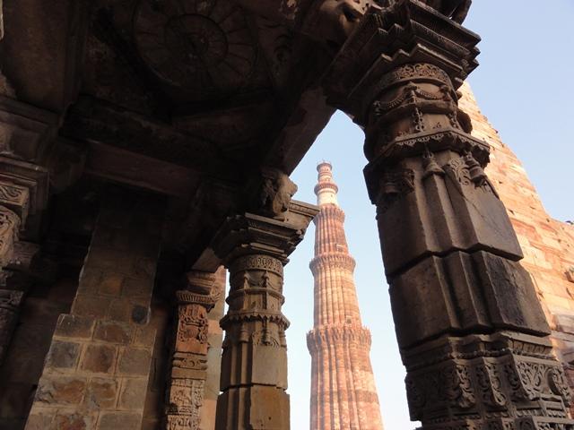 Qutub Minar - Kolumna Zwycięstwa