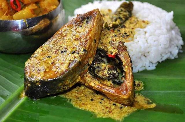 Panta bhat - bengalskie danie noworoczne.