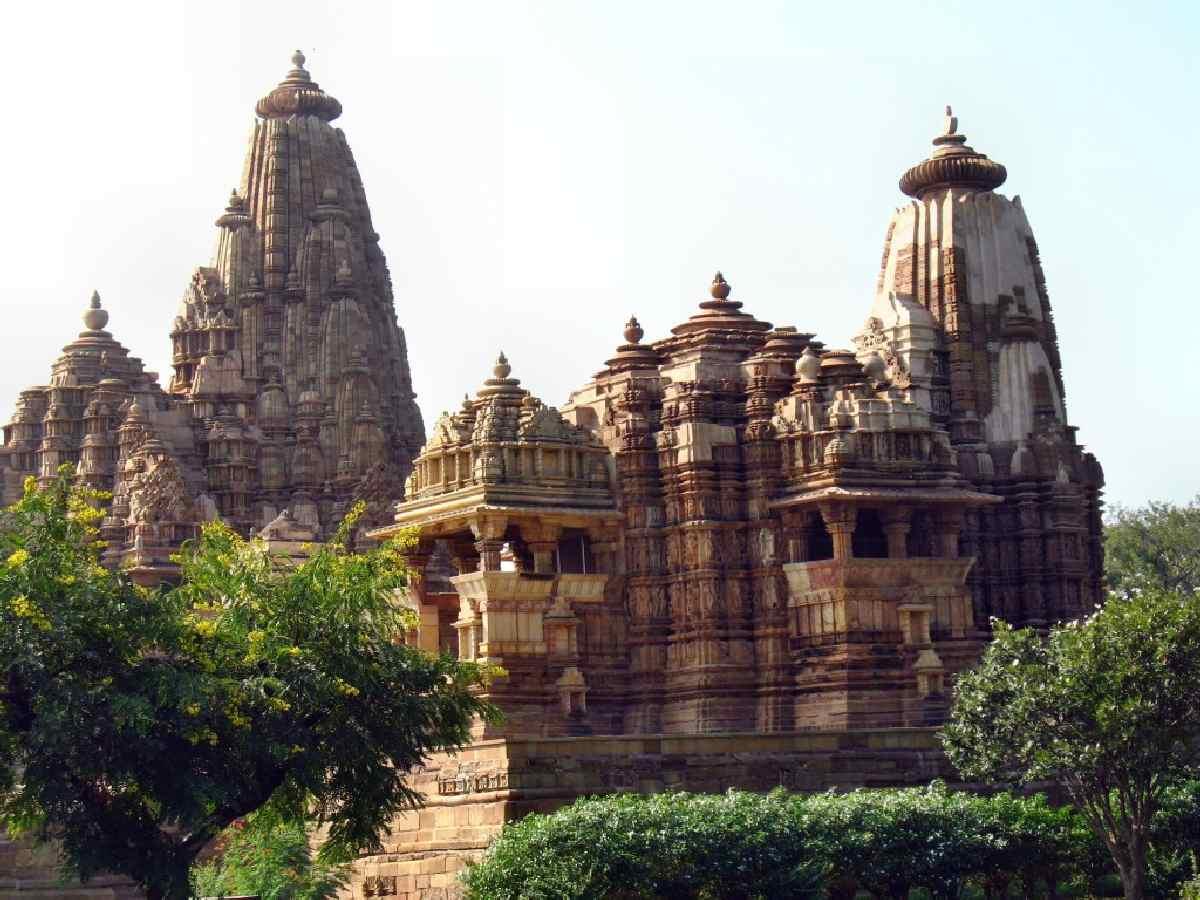 Kompleks świątynny w Khajuraho
