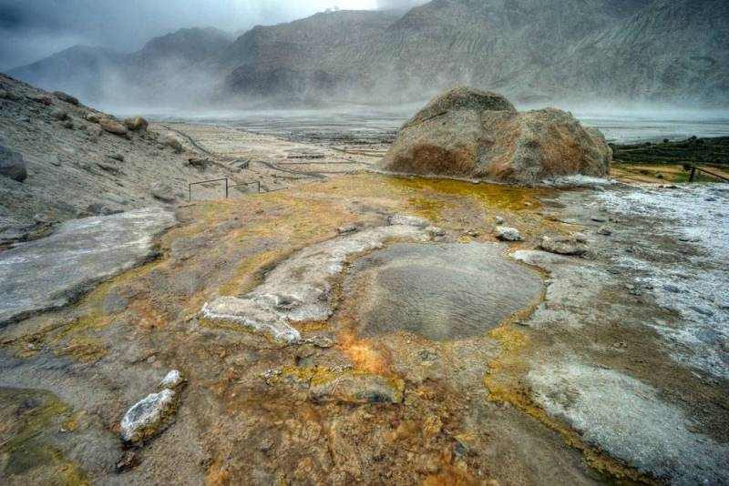 Gorące źródła w Panamik