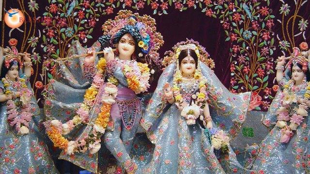 Krishna i Radha w Mathurze