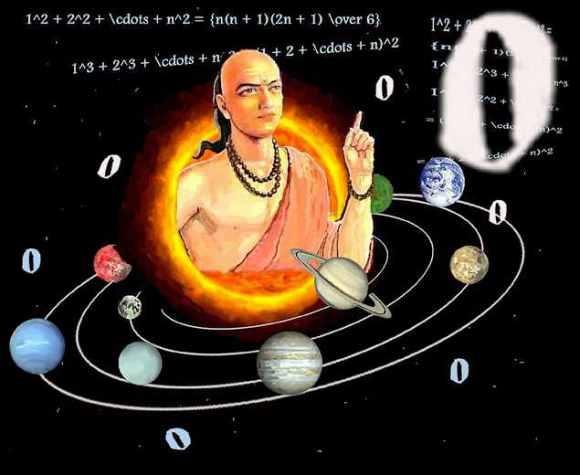 Aryabhata - wynalazca zera
