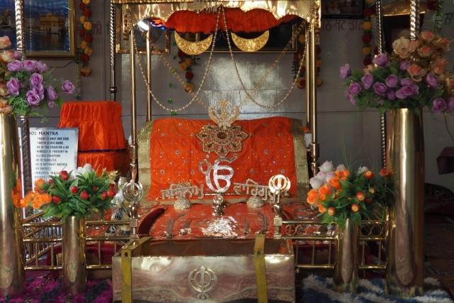 W gurdwarze Pathar Sahib koło Leh