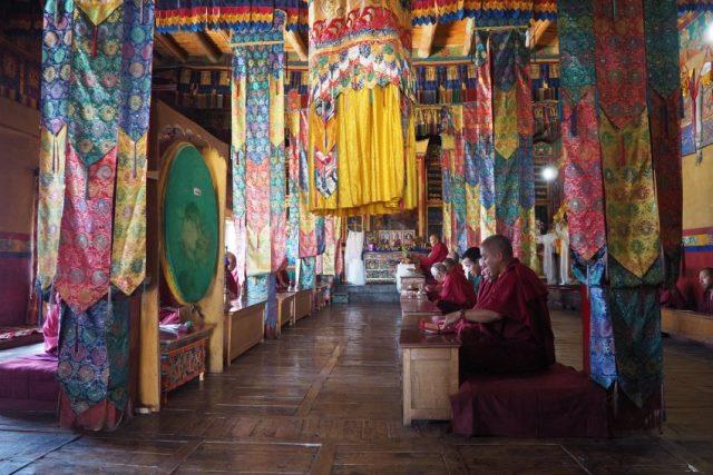 W klasztorze Diskit w Ladakhu