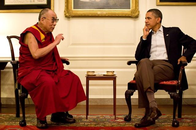 Spotkanie na szczycie - Dalajlama i Obama